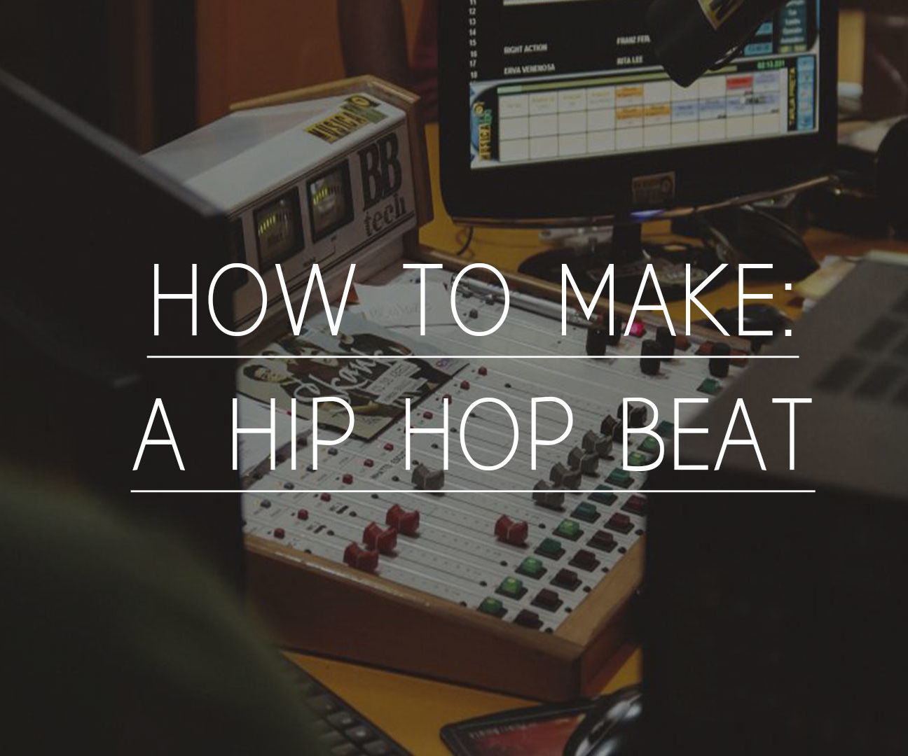 Your own Hip-Hop Beat