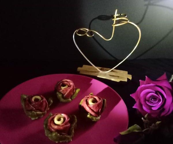 Purple Rose Sweet Buns(Fiber Rich)