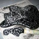 Fabric Stencil Guitar