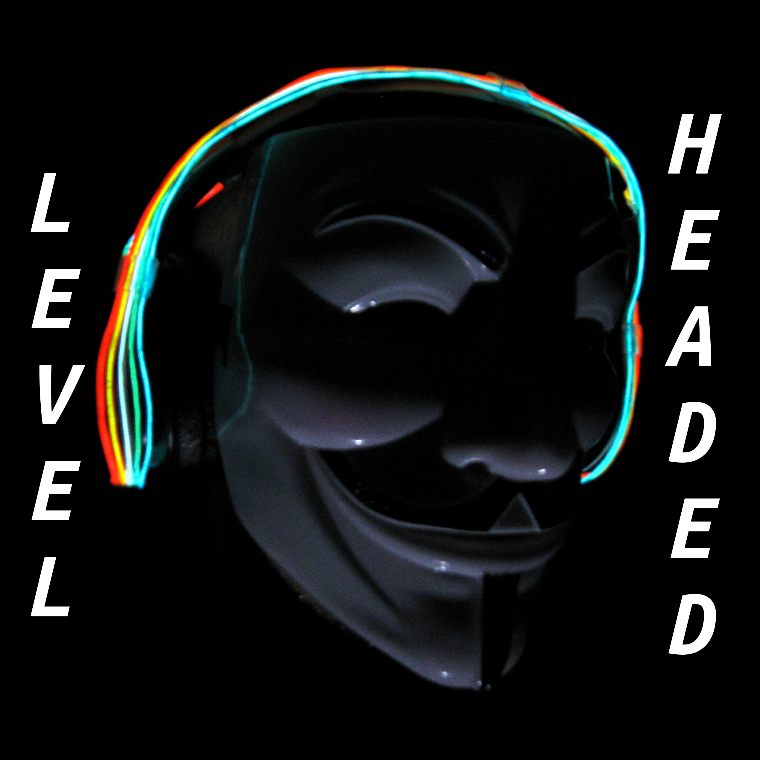 LEVEL HEADED - EL WIRE HEADPHONES