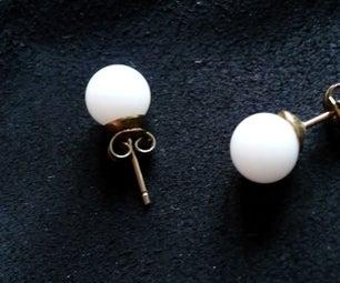 Reciclando Y Mejorando Unos Pendientes- Recycling and Improving Earrings
