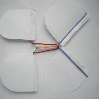 Rubber-band Powered Butterfly