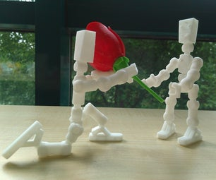 3D Print Skeleton Robot