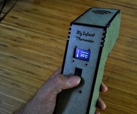 Arduino Infrared Thermometer Gun MDF Case