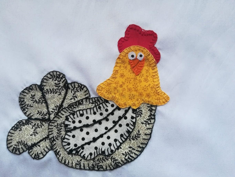 Patchwork Chicken Placemats