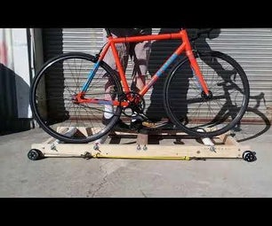 DIY Free Motion Bike Training Rollers