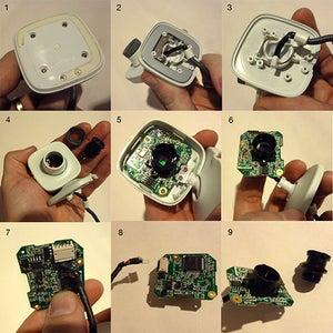 Dismantle Your Webcam