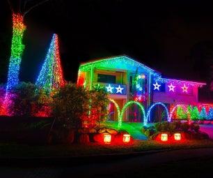 Computer Controlled Christmas Lights With Light-O-Rama