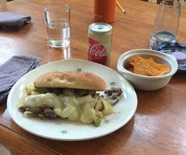 Philly Cheese Stake