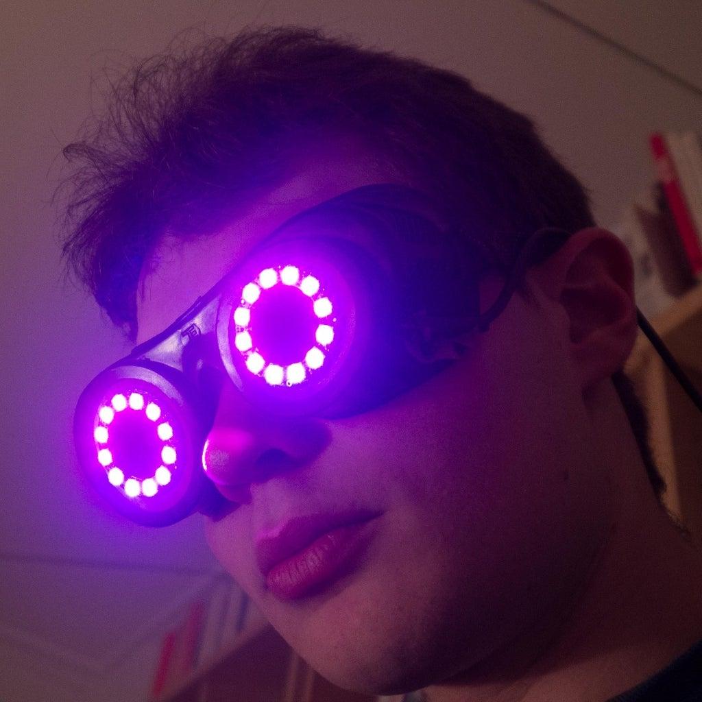 Flashy Steampunk Goggles