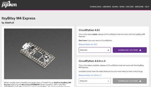 Updating Your Version of CircuitPython