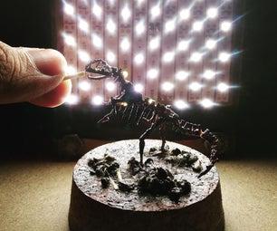 200:1 Miniature T-Rex Skeleton