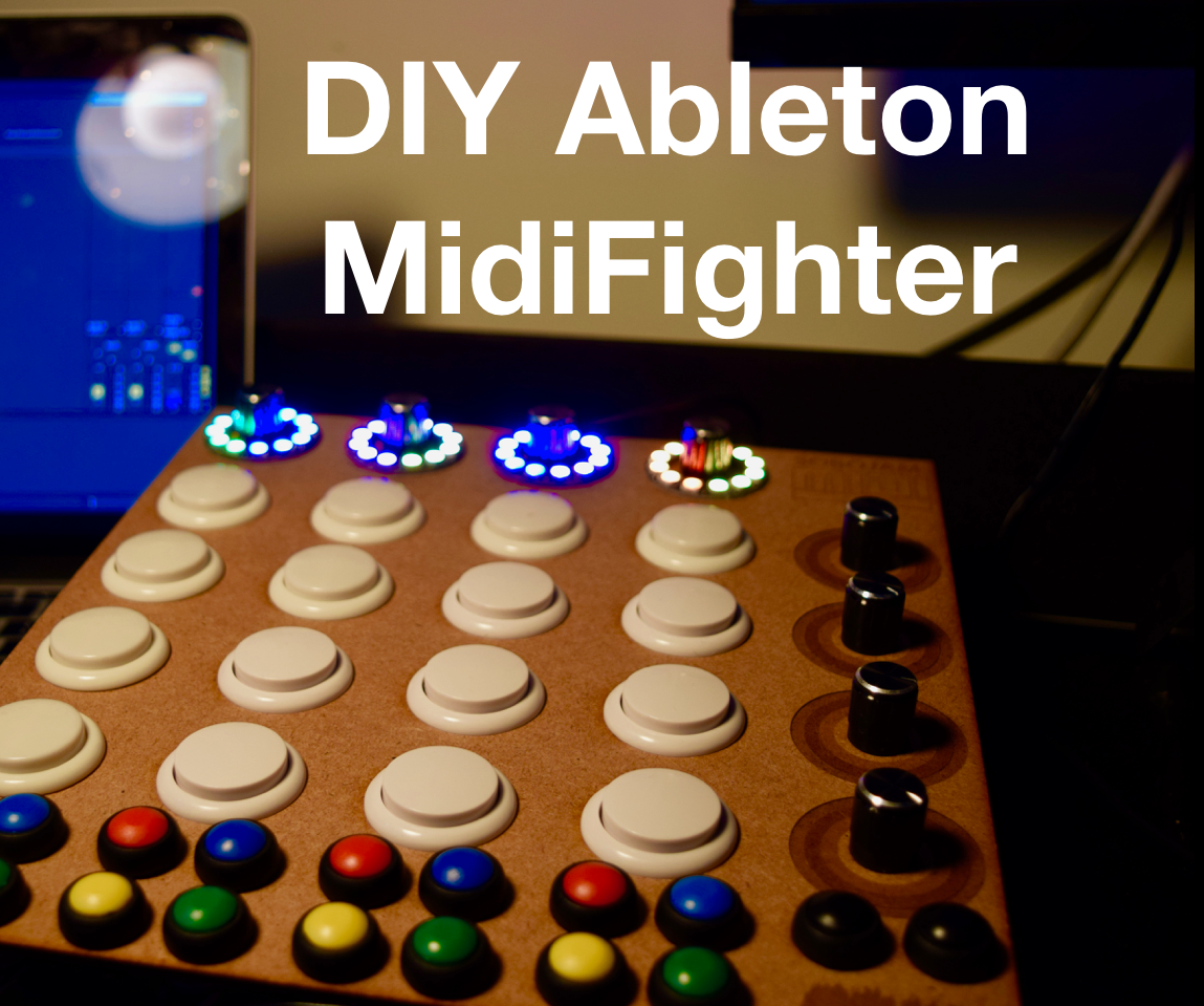 DIY Ableton Launcher MidiFighter