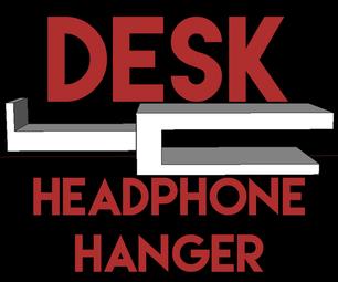 3D Printable Headphone Holder