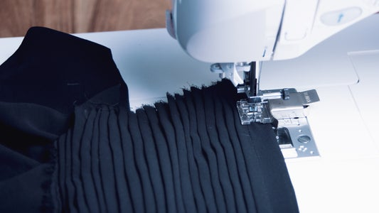 Pleating Your Fabric