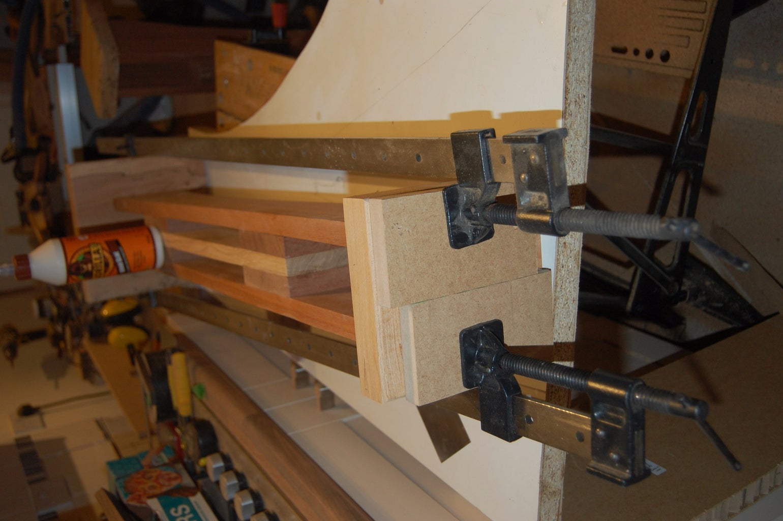 Clamping and Finishing