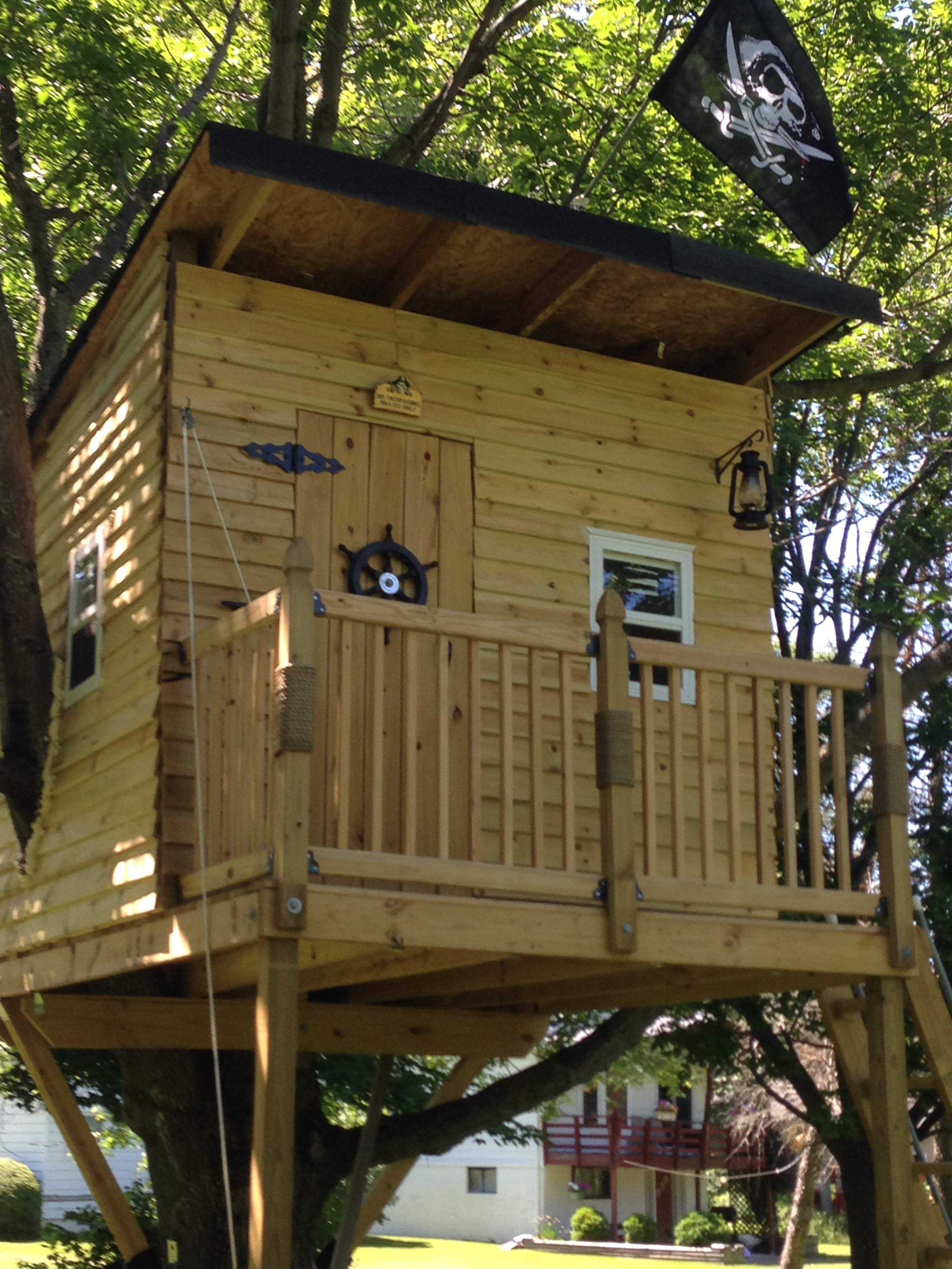 Pirate Hideout Treehouse
