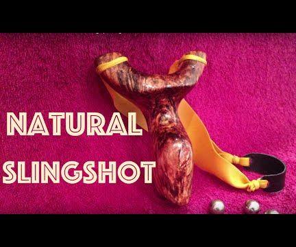 How to Make a Natural Hammergrip Slingshot