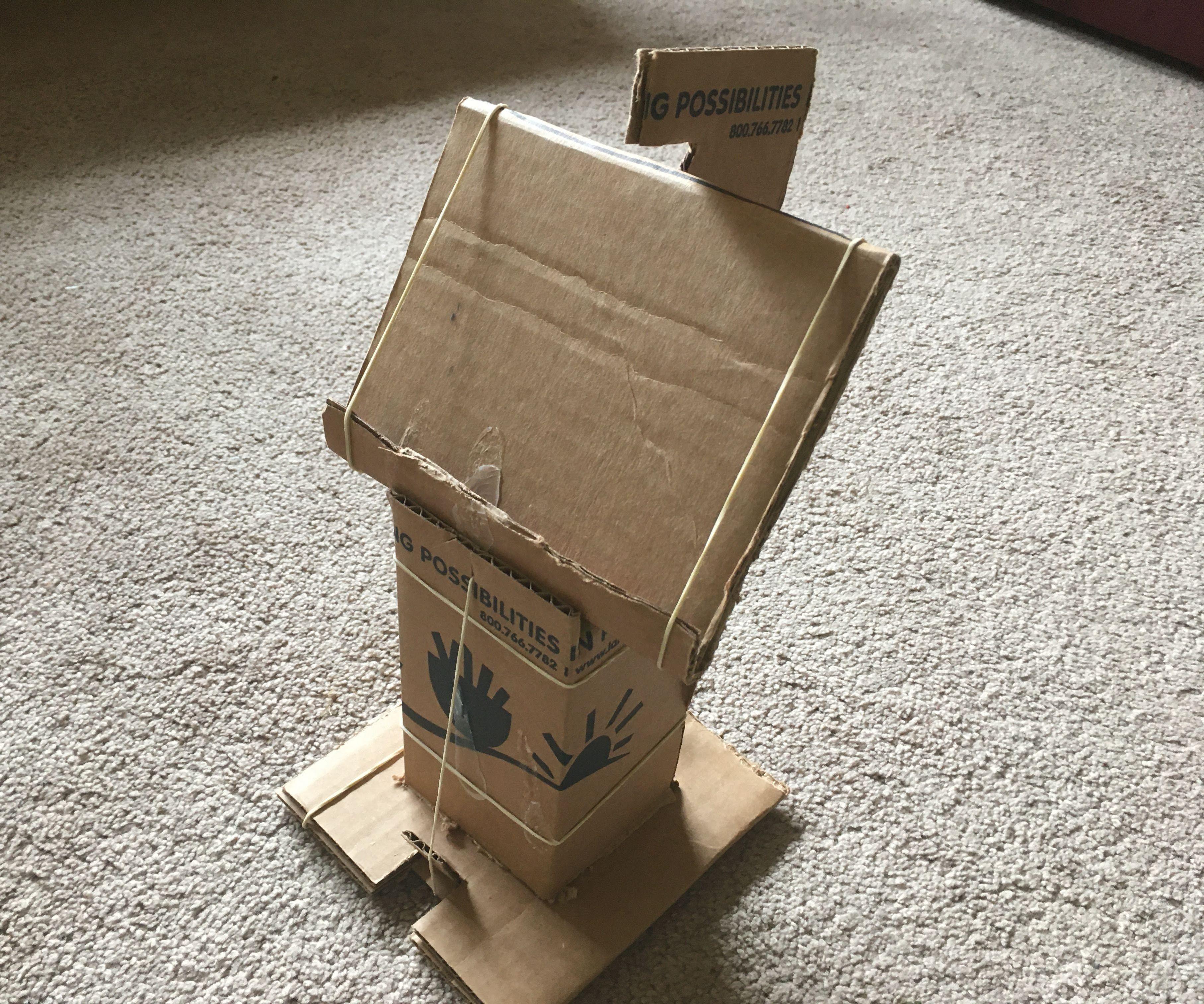 NO GLUE Cardboard Phone Stand