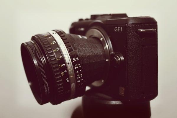 Printable Tilt-Shift Lens Adapter
