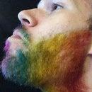 How to Dye your Beard Rainbow