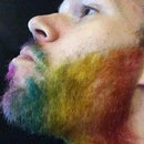 How to Dye your Beard Rainbow