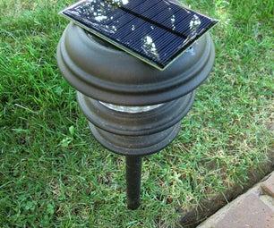 Solar Walkway Lights Solar Panel Replacement