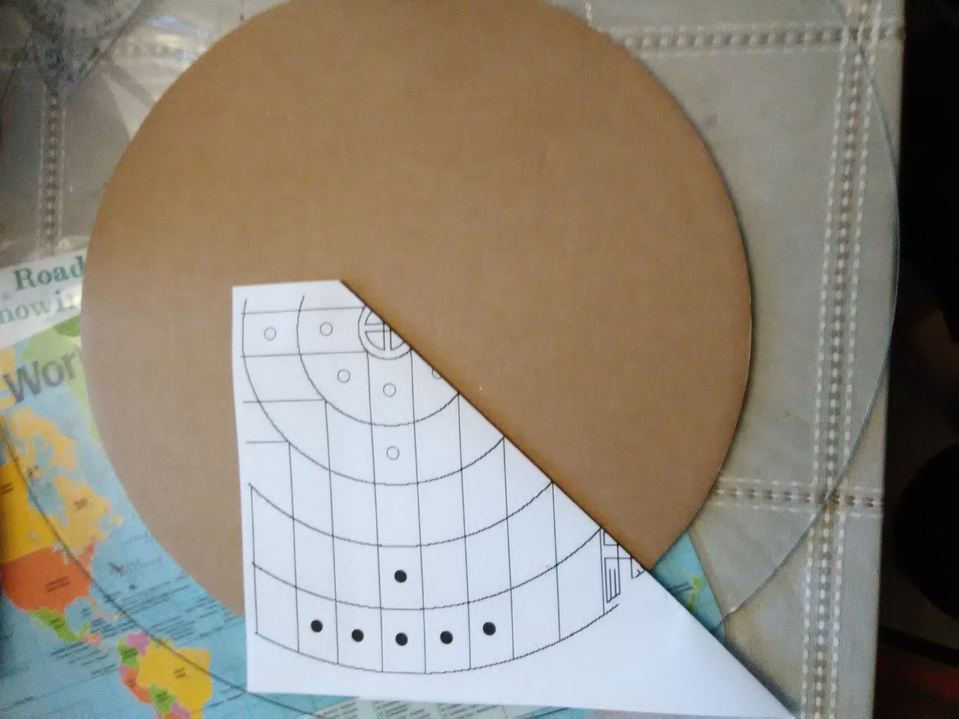Laying Out the Circles