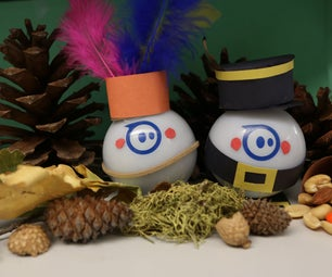 DIY Sphero Thanksgiving Costumes and Display