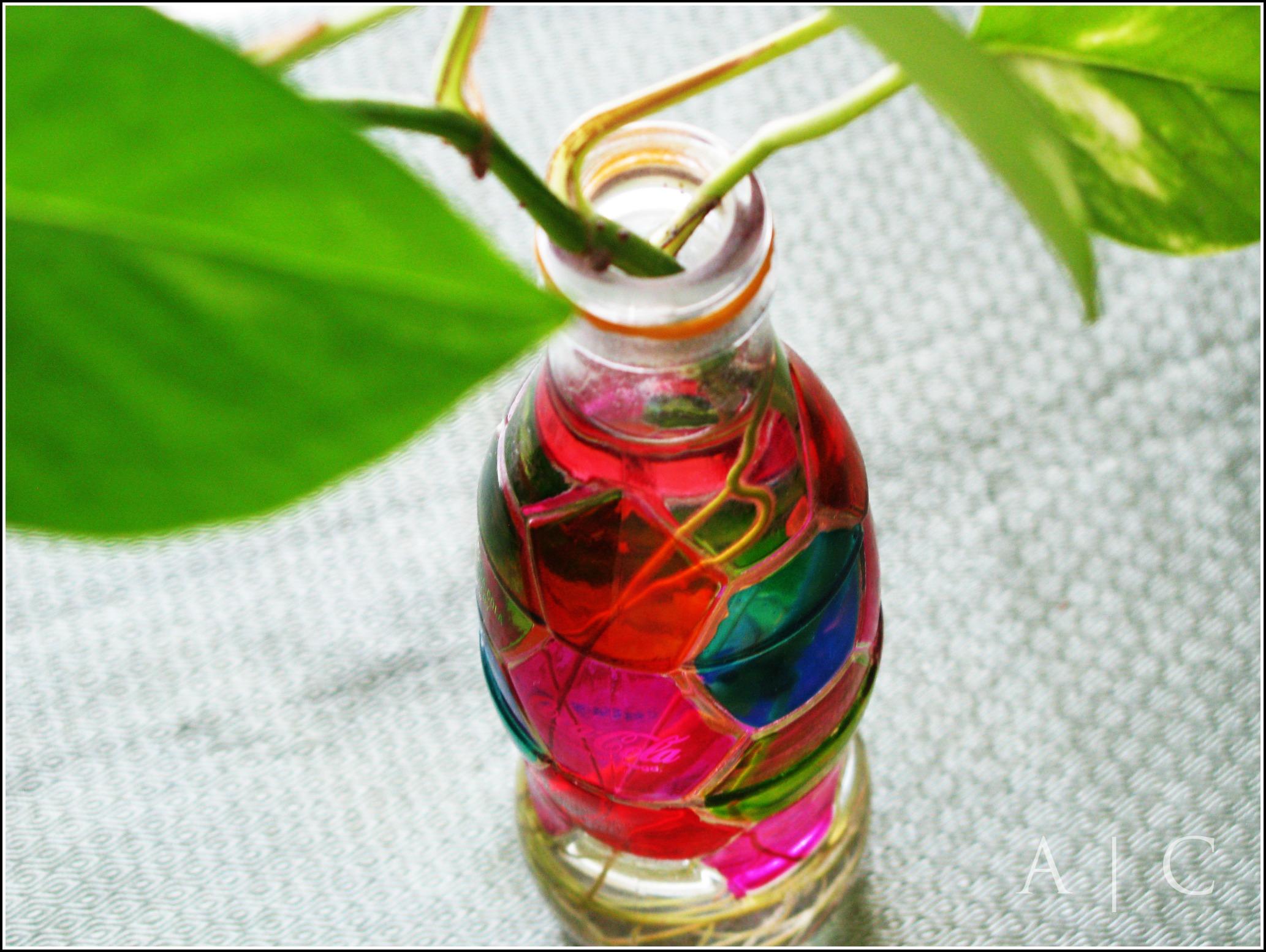 DIY Coke Bottle Vase