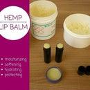 DIY Hemp Lip Balm
