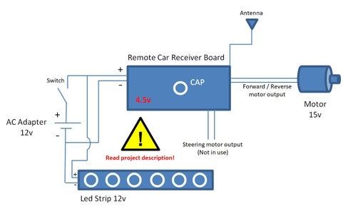 Electronics Mechanism - Full Scheme & Description