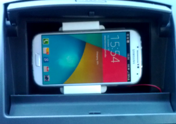 Updated: Wireless Car Charger for Smartphone