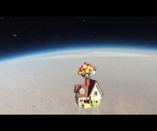 Sending Camera to Near Space by Helium Balloon, and Track Where It Lands.