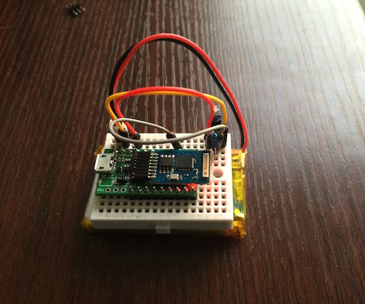 Arduino Wifi Temperature Logger