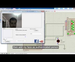 Person Authentication Using Face Detection by PC and Microcontroller (PIC, Arduino ,.....)