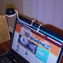 Super easy Laptop light