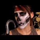 DOLLAR TREE PIRATE SKULL MAKEUP