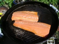 Smoking Salmon on a Charcoal Grill