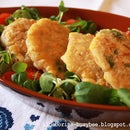 Spicy Chicken and Sweetcorn Fritters