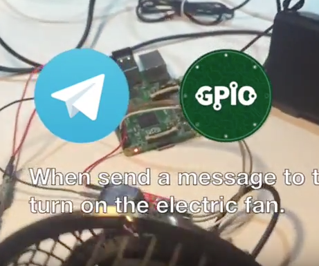 Home Automation Messenger Bot for Raspberry Pi