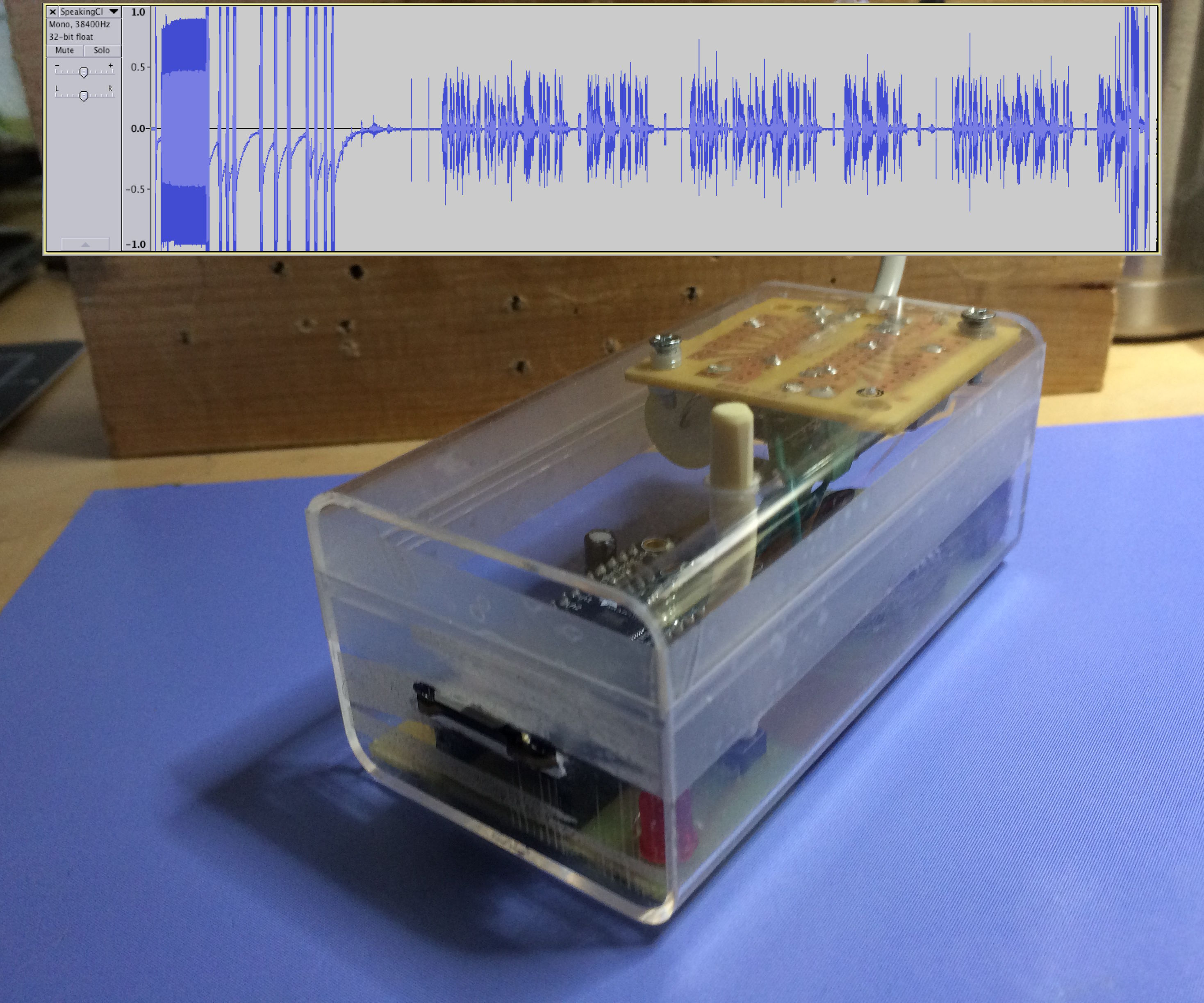 Telephone Recorder Made the Easy Way