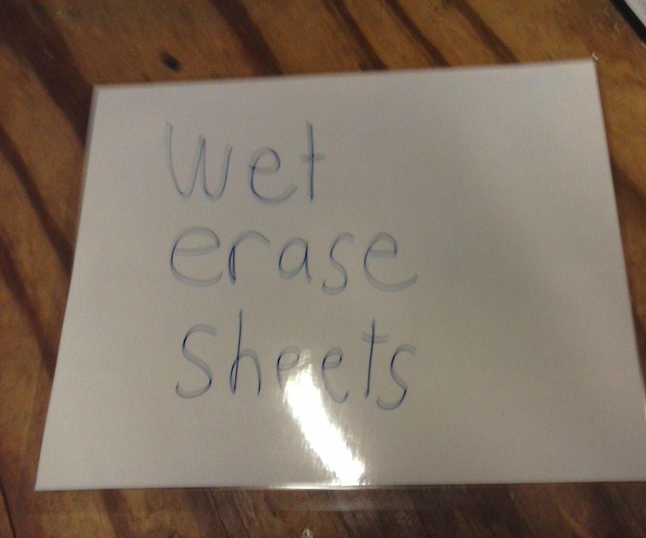 Reusable Paper