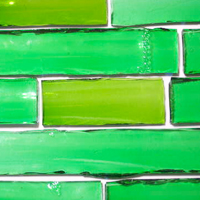 Glass Tiles from Bottles