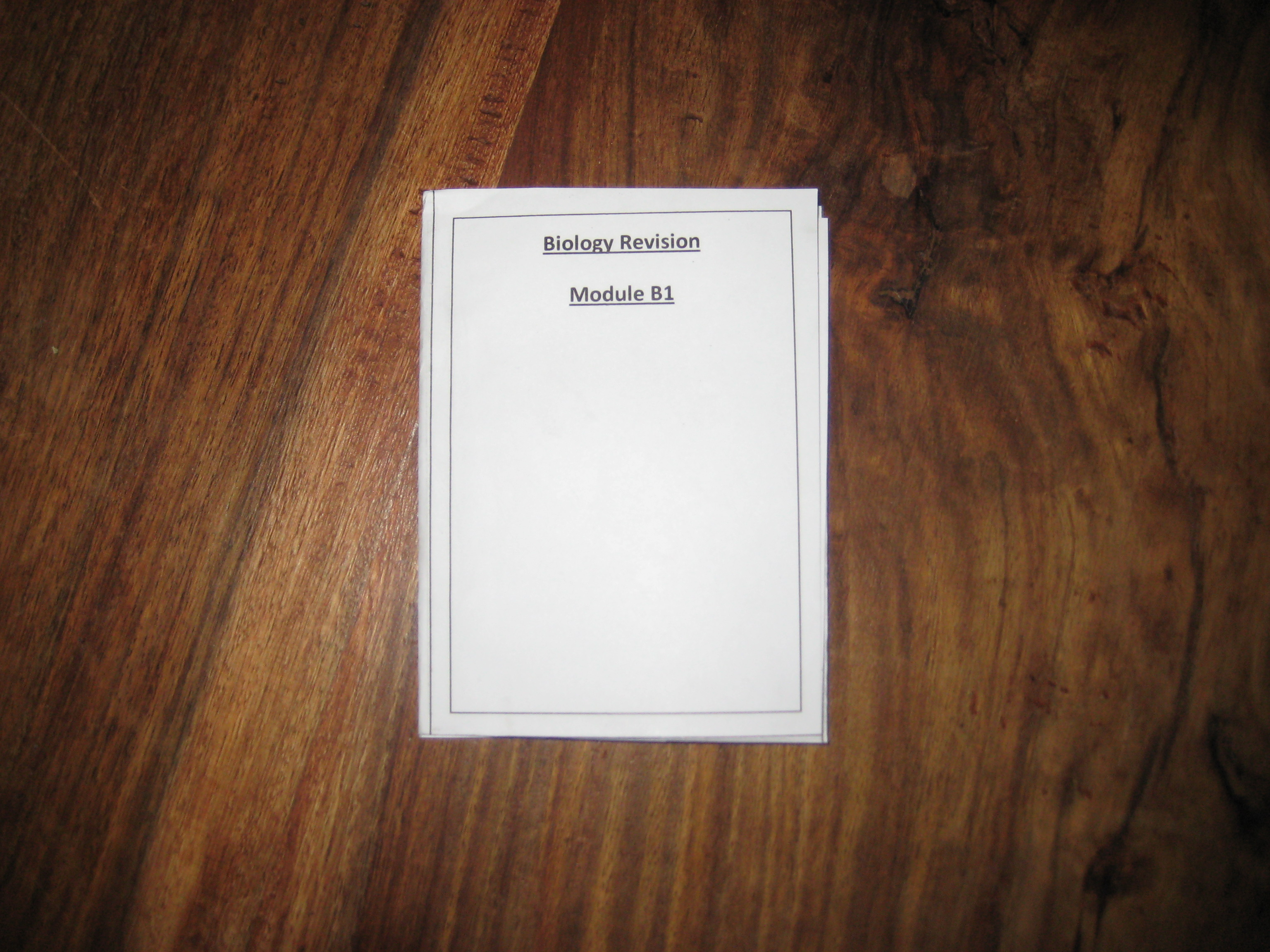 Make Pocketmods (little booklets) with MS Word