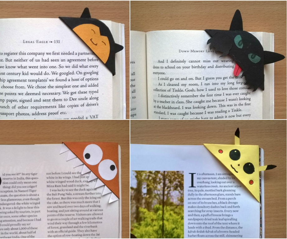 Cute Corner Bookmarks!