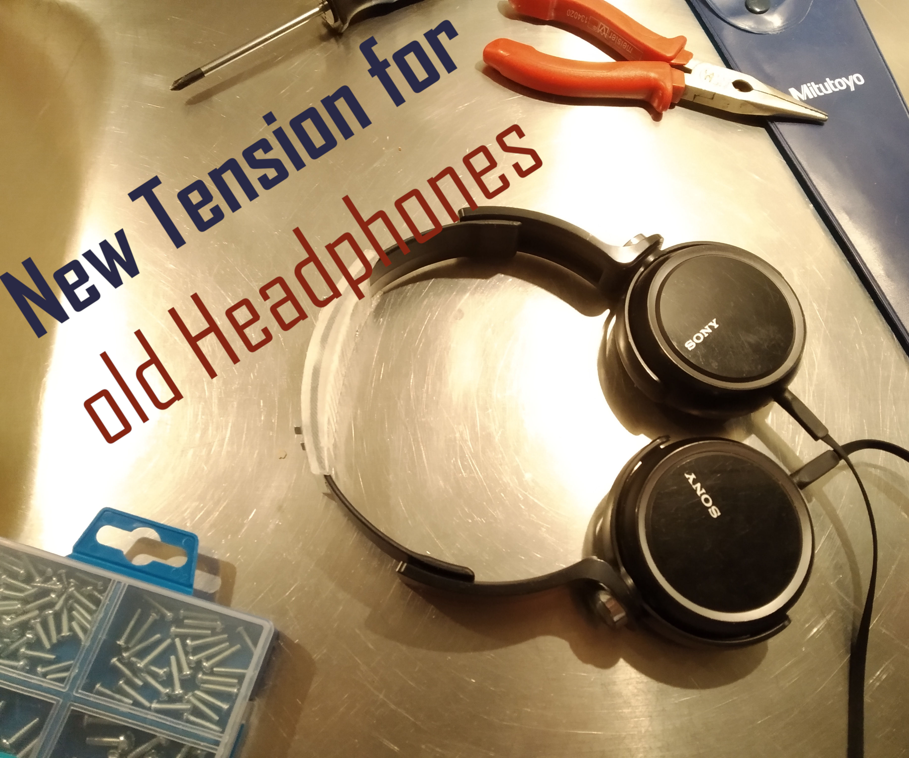 Revive Tension From On- and Over-Ear Headphones - Customable Fusion 360 File Attached
