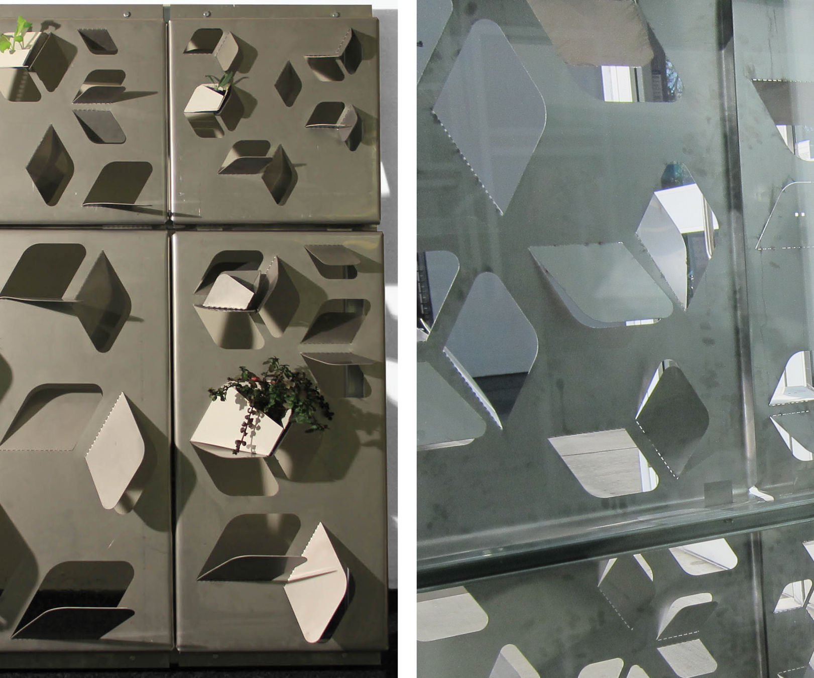 Architecture In The Making: Learn To Grow / Grow To Learn Facade Prototype
