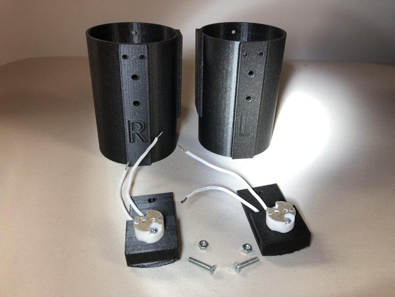 Inserting LED Sockets
