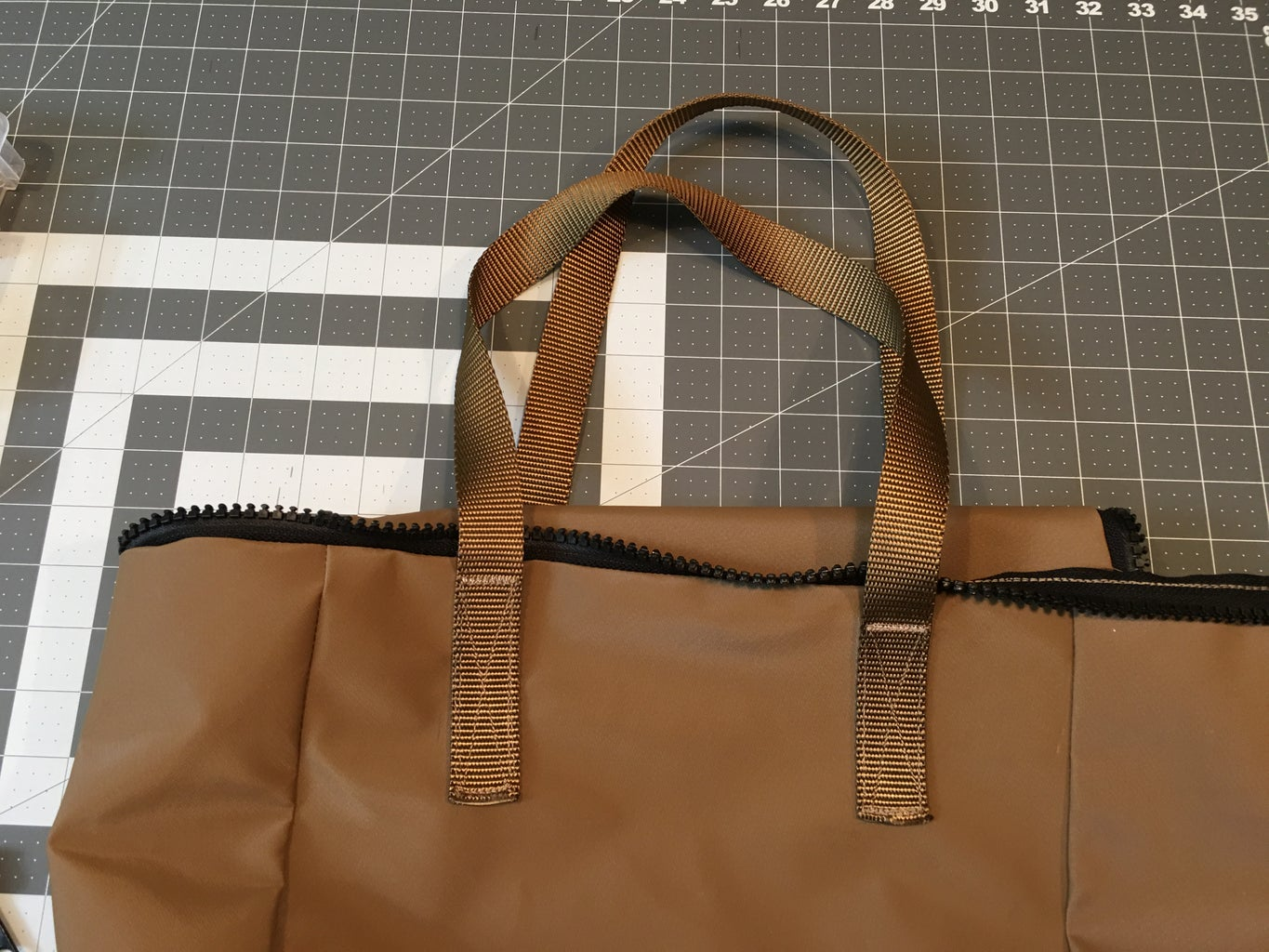 Adding Additional Handles to the Body of the Bag:
